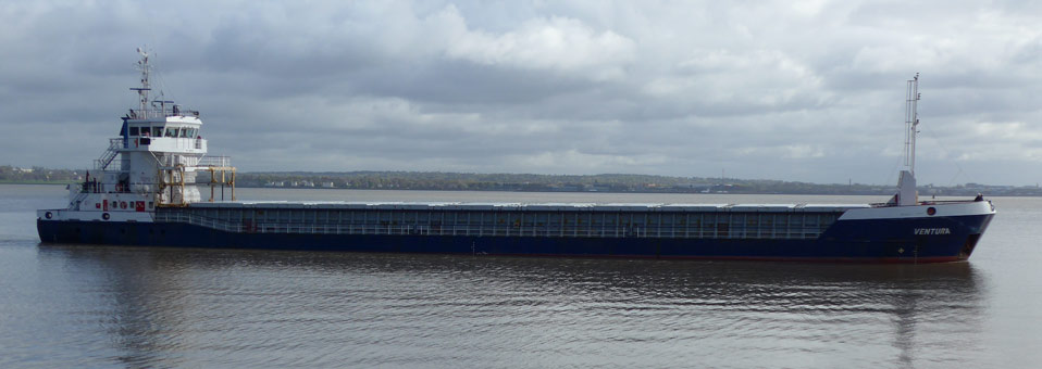 Ten cargo vessels ranging from 2350 to 3850mt dwt